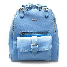 โปรโมชั่น Jacob International กระเป๋าเป้สะพายหลัง รุ่น V4234 สีฟ้า ใน ไทย