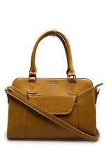 ซื้อ Jacob International กระเป๋าถือ รุ่น V4251 Yellow ใหม่ล่าสุด