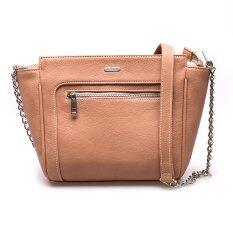 ราคา Jacob International กระเป๋าสะพาย รุ่น V4277 Brown Jacob International ออนไลน์