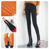 ราคา Jeans สีดำ บุขนแคชเมียร์ Size 26 28 30 32 ใหม่ล่าสุด