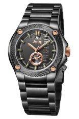 ขาย ซื้อ Jeep นาฬิกาแฟชั่นบุรุษสายสแตนเลส รุ่น Jp10309 Black