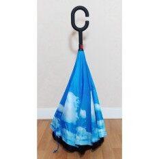 Jgadgetshop ร่มกลับด้าน Inverted Umbrella ด้ามจับตัวซี By Jgadget Shop.