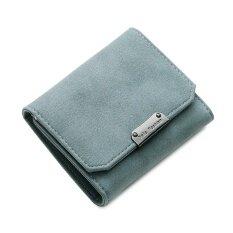 ซื้อ กระเป๋าสตางค์ที่เรียบง่ายกระเป๋าสตางค์หญิงมัลติฟังก์ชั่ใหม่ สีน้ำเงินเข้ม ใน ฮ่องกง