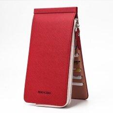 ส่วนลด ง่ายสตรีบัตรเครดิตโฟลเดอร์เอกสารส่วนยาวหญิงกระเป๋าสตางค์บัตรแพคเกจ สีแดงขนาดใหญ่ Other ใน ฮ่องกง