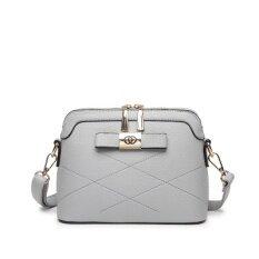 ราคา ง่ายฤดูใบไม้ผลิหญิงกระเป๋าใหม่กระเป๋าถือ สง่างามสีเทา ใน ฮ่องกง