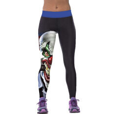 Jiayiqi Pencil Pants 3D Hero Clown Printed Fitness Gym Yoga Leggings Intl ใหม่ล่าสุด