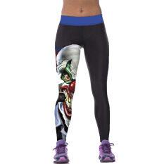 ซื้อ Jiayiqi Pencil Pants 3D Hero Clown Printed Fitness Gym Yoga Leggings Intl Jiayiqi เป็นต้นฉบับ