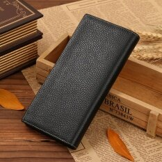 ราคา Jinbaolai ชายแฟชั่นผู้ชายหนังแท้กระเป๋าสตางค์กระเป๋าสตางค์แบรนด์บุรุษกระเป๋าสตางค์สำหรับและบัตรกระเป๋าถือ 8039C ราคาถูกที่สุด