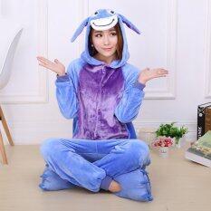 ราคา Jingle Donkey *D*Lt Unisex Pajamas Cosplay Costume Onesie Sleepwear S Xl Blue Intl ออนไลน์ จีน