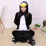 ขาย Jingle Penguin *D*Lt Unisex Pajamas Cosplay Costume Onesie Sleepwear S Xl Black Intl ออนไลน์ ใน จีน