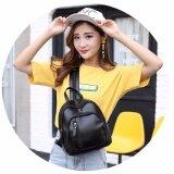ซื้อ Jj กระเป๋าเป้สะพายหลังหนังใหม่ สไตล์เกาหลี รุ่น Mm136 สีดำ กรุงเทพมหานคร