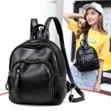 ซื้อ Jj ระเป๋าสะพายหลัง กระเป๋าแฟชั่นผู้หญิง สไตล์เกาหลี รุ่น Mm136 สีดำ Jj เป็นต้นฉบับ