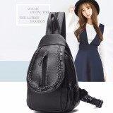 ขาย ซื้อ ออนไลน์ Jj ระเป๋าสะพายหลัง กระเป๋าแฟชั่นผู้หญิง สไตล์เกาหลี รุ่น Mm6205 สีดำ