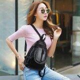 ซื้อ Jj ระเป๋าสะพายหลัง กระเป๋าแฟชั่นผู้หญิง สไตล์เกาหลี รุ่น Mm6205 สีดำ ออนไลน์ กรุงเทพมหานคร