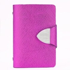 Jo In Synthetic Leather Business Case Wallet Id Credit Card Holder Purse For 26 Cards Rosered ใหม่ล่าสุด