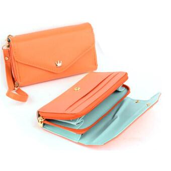 Jo. ในผู้หญิงกระเป๋าคลัทช์กระเป๋าถือโทรศัพท์มือถือกระเป๋าเหรียญกระเป๋าใส่เหรียญ