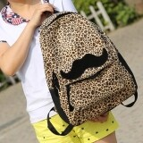 ราคา Jo In Women Leopard Backpack With Beautiful Colleague Mustache For Girls And Women Backpack Unbranded Generic เป็นต้นฉบับ