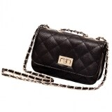ขาย ซื้อ ออนไลน์ Jo In Women S Leather Mini Cross Body Chain Shoulder Bag Handbag Purse Black