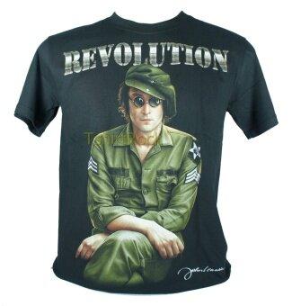 เสื้อวง JOHN LENNON เสื้อยืดวงดนตรีร็อค เมทัล เสื้อร็อคJLN1471 สินค้าในประเทศ