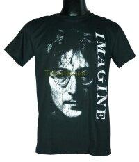 ซื้อ เสื้อวง John Lennon เสื้อยืดวงดนตรีร็อค เมทัล เสื้อร็อค Jln1500 ส่งจาก กทม ถูก ไทย