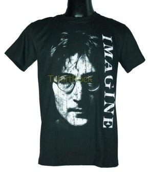 เสื้อวง JOHN LENNON เสื้อยืดวงดนตรีร็อค เมทัล เสื้อร็อคJLN1500 ส่งจาก กทม.