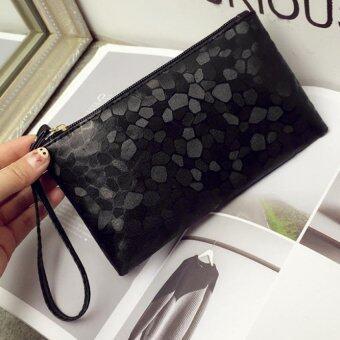 JOY Korea Korean fashionFashionable design colors holding parcel (Black) - Intl