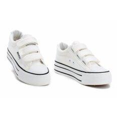 ราคา ่่joy Selection รองเท้าผ้าใบเสริมความสูง3 7 ซม K022 สีขาว ใหม่
