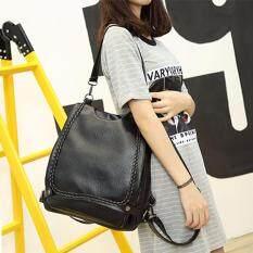 ขาย Joying Bag กระเป๋าสะพายหลัง กระเป๋าเป้ กระเป๋าแฟชั่นผู้หญิง รุ่น Ba 149 สีดำ