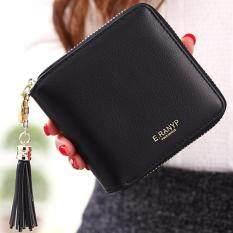 ซื้อ Nitta Brand กระเป๋าเงิน กระเป๋าสตางค์ กระเป๋าใส่เหรียญ กระเป๋าใส่นามบัตร Wallet รุุ่น Nt 053 สีดำ ออนไลน์
