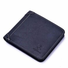 Jr Wen S Genuine Cow Leather Wallet Vertical Cross Section Type Of Cp17H0138 Horizontal Type Of Black Intl จีน