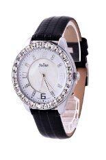 ซื้อ Julius นาฬิกาข้อมือผู้หญิง สายหนัง รุ่น Ja 379 สีดำ Julius