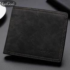 ส่วนลด Jvgood ธุรกิจกระเป๋าสตางค์ชายธุรกิจผู้ชายกระเป๋าสตางค์ของแข็งหนังเทียมหนังกระเป๋าสตางค์ยาว Bifold กระเป๋าสตางค์แบบพกพาเหรียญกระเป๋าคลัทช์ชาย
