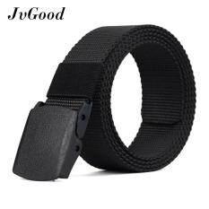 Jvgood เข็มขัดบุรุษชายกีฬากลางแจ้งไนลอนสายรัดผ้าใบ Nylon Canvas Men Belt ถูก