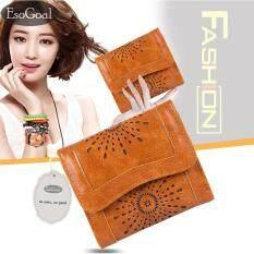 ราคา Jvgood กระเป๋าสตางค์ใบยาว กระเป๋าเงินผู้หญิง กระเป๋าสตางค์ ผู้หญิง รุ่น Fashion Women Leather Wallet เป็นต้นฉบับ
