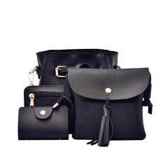 ราคา Jvgood กระเป๋าสะพายข้าง กระเป๋าเป้ผ้าไนลอน รุ่น Pu Leather Handbag Shoulder Bag ใหม่ล่าสุด