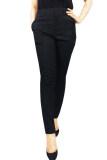 ราคา กางเกงขายาว ซิปหน้า ผ้าอยู่ทรง สีดำ ใหม่ ถูก