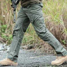 ราคา กางเกงขายาว กันน้ำ เบา ไม่ต้องรีด รุ่น Ix11 สีเขียว ใน กรุงเทพมหานคร