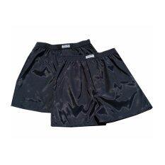 ซื้อ กางเกงนอนผู้ชาย กางเกงนอน ใส่สบาย กางเกง Boxer บ็อกเซอร์ สีดำ Men Fashion Boxers Sleepwear กางเกงขาสั้น กางเกง 2 ตัว กางเกงอยุ่บ้าน กางเกงใส่อยู่บ้าน กางเกงใน กางเกงชั้นใน ผู้ชาย มีสินค้า พร้อมส่ง ใหม่ล่าสุด