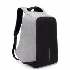 ราคา Kaka กระเป๋าเป้นิรภัย Anti Theft Backpack รุ่น 2236 สีเทา ใหม่ ถูก
