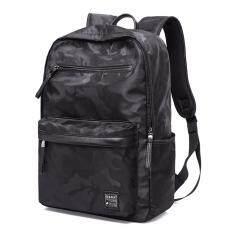 โปรโมชั่น Kaka กระเป๋าเป้ กระเป๋าสะพายหลัง Korean Trendy พร้อมช่องใส่ Notebook และ Tablet รุ่น 2242 ลายพรางดำ