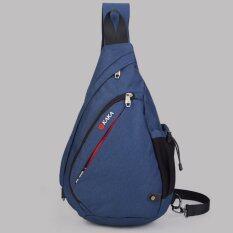 ราคา Kaka กระเป๋าคาดอก สะพายหลัง รุ่น 99001 ไซส์ Large สีน้ำเงิน ใหม่ล่าสุด
