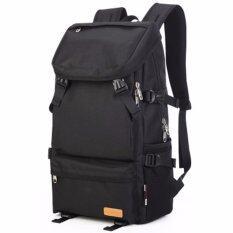 ส่วนลด Kaka Otzi กระเป๋าเป้สะพายหลัง แฟชั่นไสตส์เกาหลี แบ็คแพ็ค เดินทาง ท่องเทียว กันน้ำ สีดำ Kaka