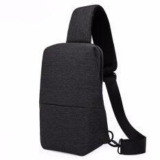 ราคา Kaka กระเป๋าคาดอก หลัง สะพายไหล่ Urban Leisure Chest Bag รุ่น 99009 สีดำ ออนไลน์ กรุงเทพมหานคร