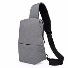 Kaka กระเป๋าคาดอก สะพายไหล่ Urban Leisure Chest Pack No 99009 สีเทา เป็นต้นฉบับ