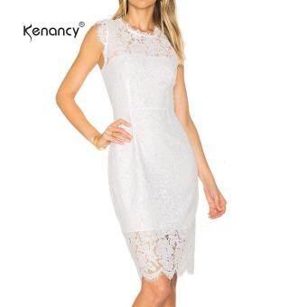 ... Wedding Cocktail Party Prom รีวิว Kenancy Womens Sexy Lace Sheath Bodycon Dress… ซื้อที่ไหน Kenancy ...