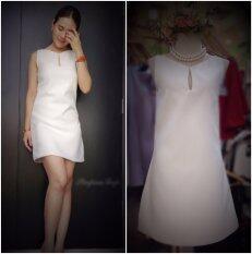 ราคา Kgooggig เดรสชุดขาว งาน Design สั่งตัด แพทเทิร์นเป๊ะ ใหม่