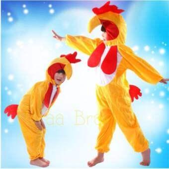 Kids Clothing Chicken Hen ชุดแฟนซี ชุดแฟนซีเด็ก ชุดไก่ ชุดแม่ไก่ จั๊มสูทเด็ก ชุดแฟนซีเด็ก ชุดไก่ เสื้อผ้าเด็ก รุ่น ชุดสัตว์ Hen Chicken (สีเหลือง)