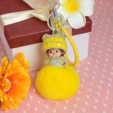 ขาย Kiki แท็กกุญแจเร็กซ์ผมรุ่นระเบิด สีเหลืองสดใส ผู้ค้าส่ง