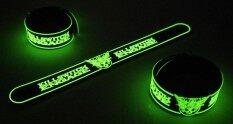 Killswitch Engage ริสแบนด์เรืองแสง Wristband สายรัดข้อมือ กำไล วงร็อค พังค์ อีโม เดธเมทัล ป๊อป เกาหลี Kwe281ga By Rockwristband.