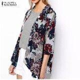 ราคา ผู้หญิงแก้ผ้าชีฟองลายดอก Kimono เสื้อ Intl ใน สมุทรปราการ